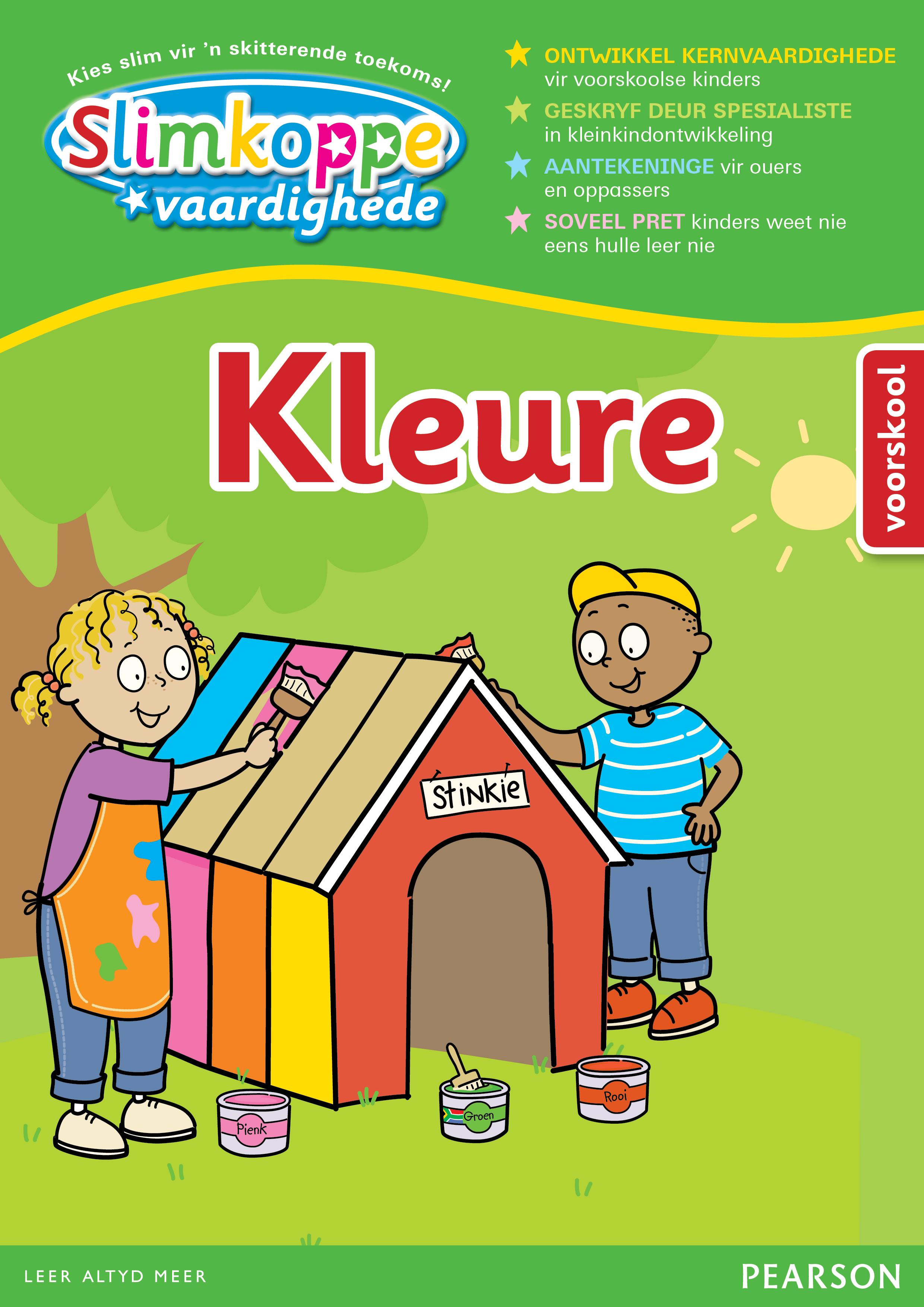 Picture of Slimkoppe Vaardighede: Kleure (Voorskool): Preschool