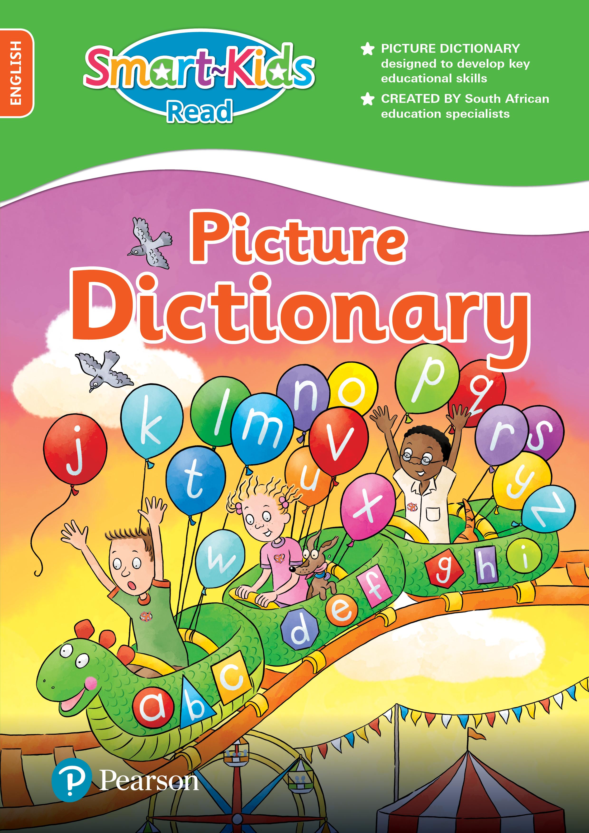 Picture of Smart-Kids Read: Picture Dictionary: Preschool, Grade R, Grade 1-2