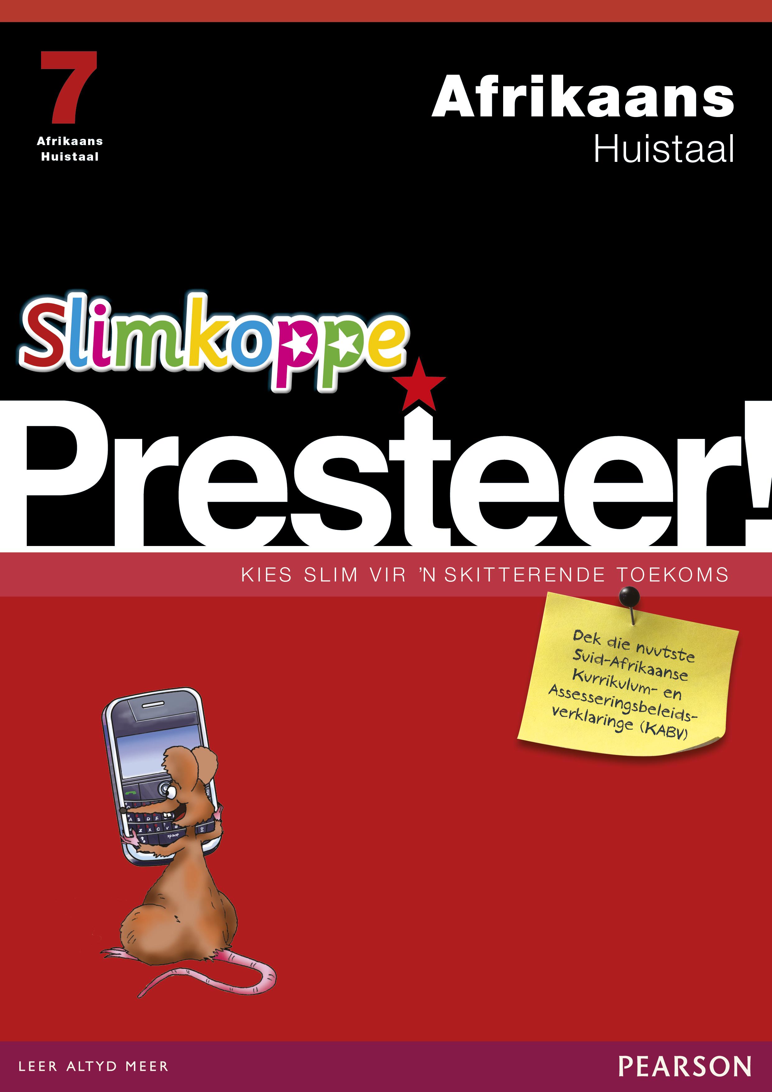 Picture of Slimkoppe Presteer! Afrikaans Huistaal: Grade 7