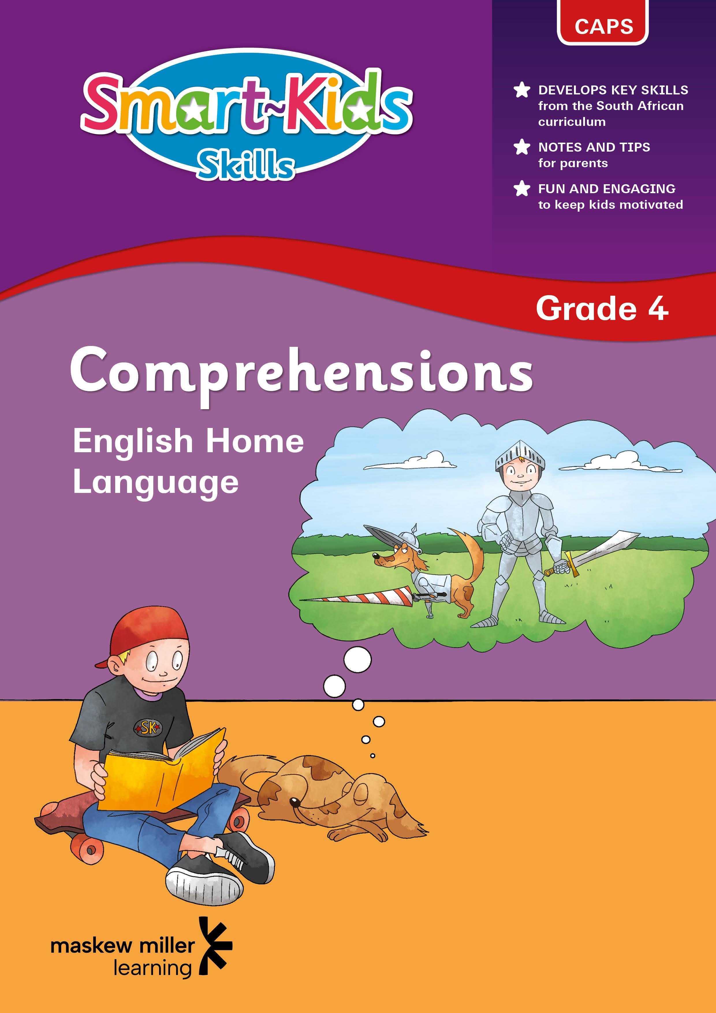 Smart-Kids Skills: Comprehensions: Grade 4
