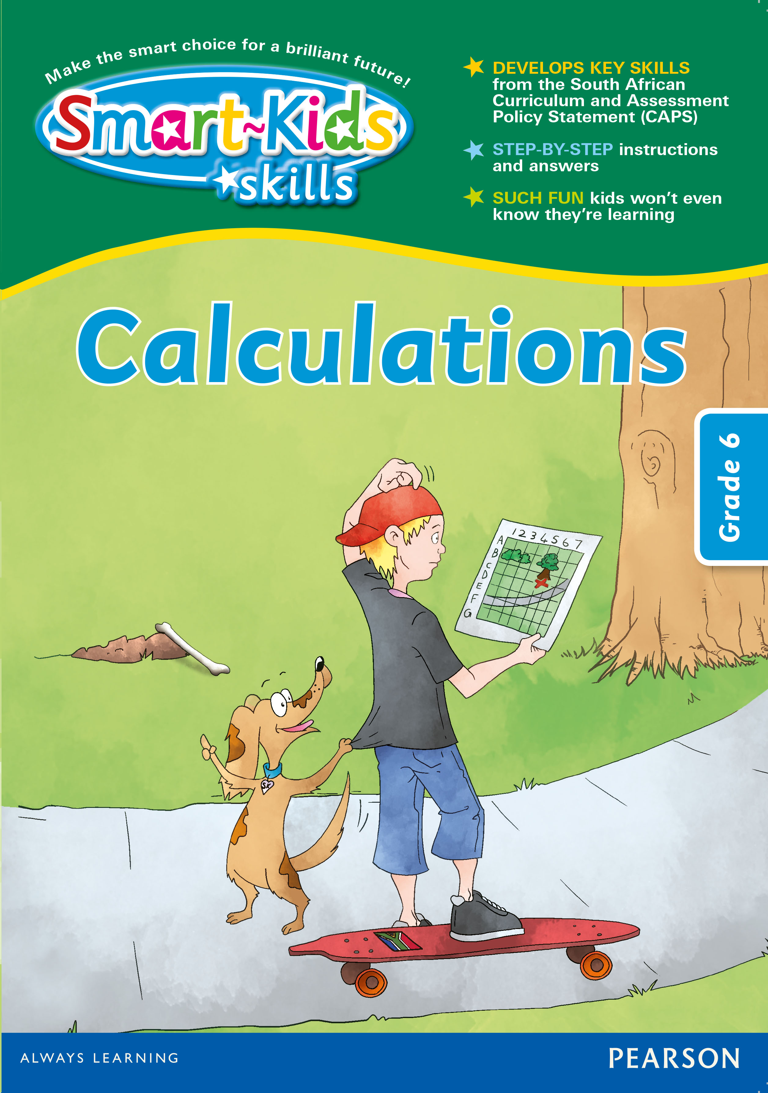 Picture of Smart-Kids Skills: Calculations: Grade 6