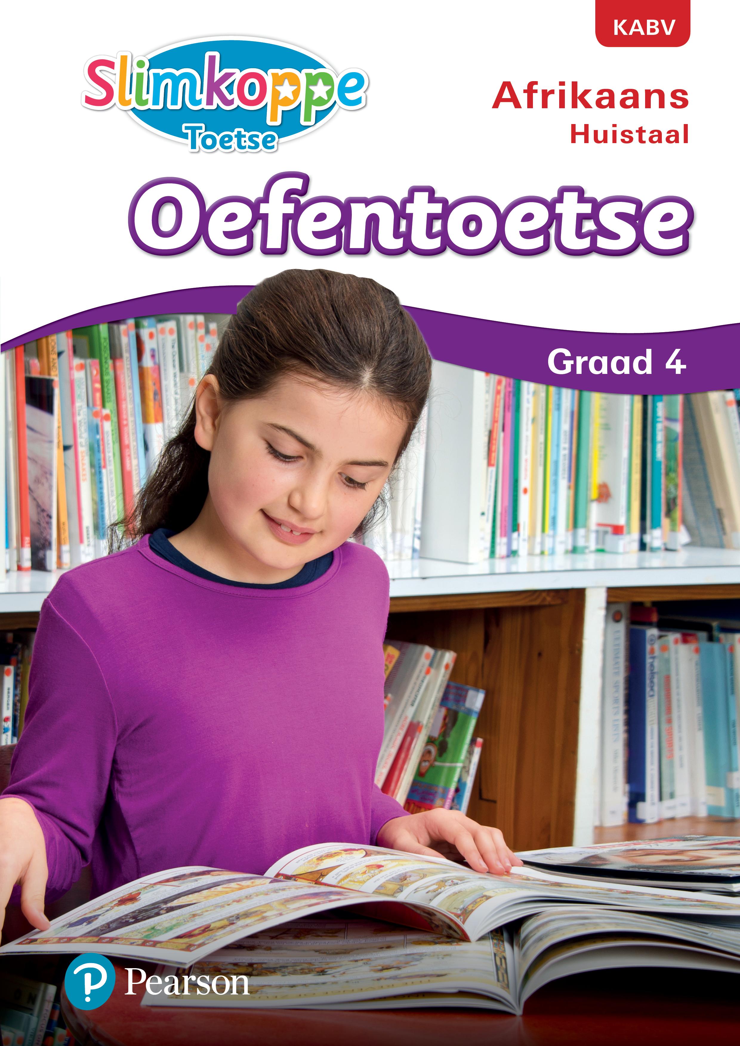 Picture of Slimkoppe Toetse: Afrikaans Huistaal: Grade 4: Oefentoetse