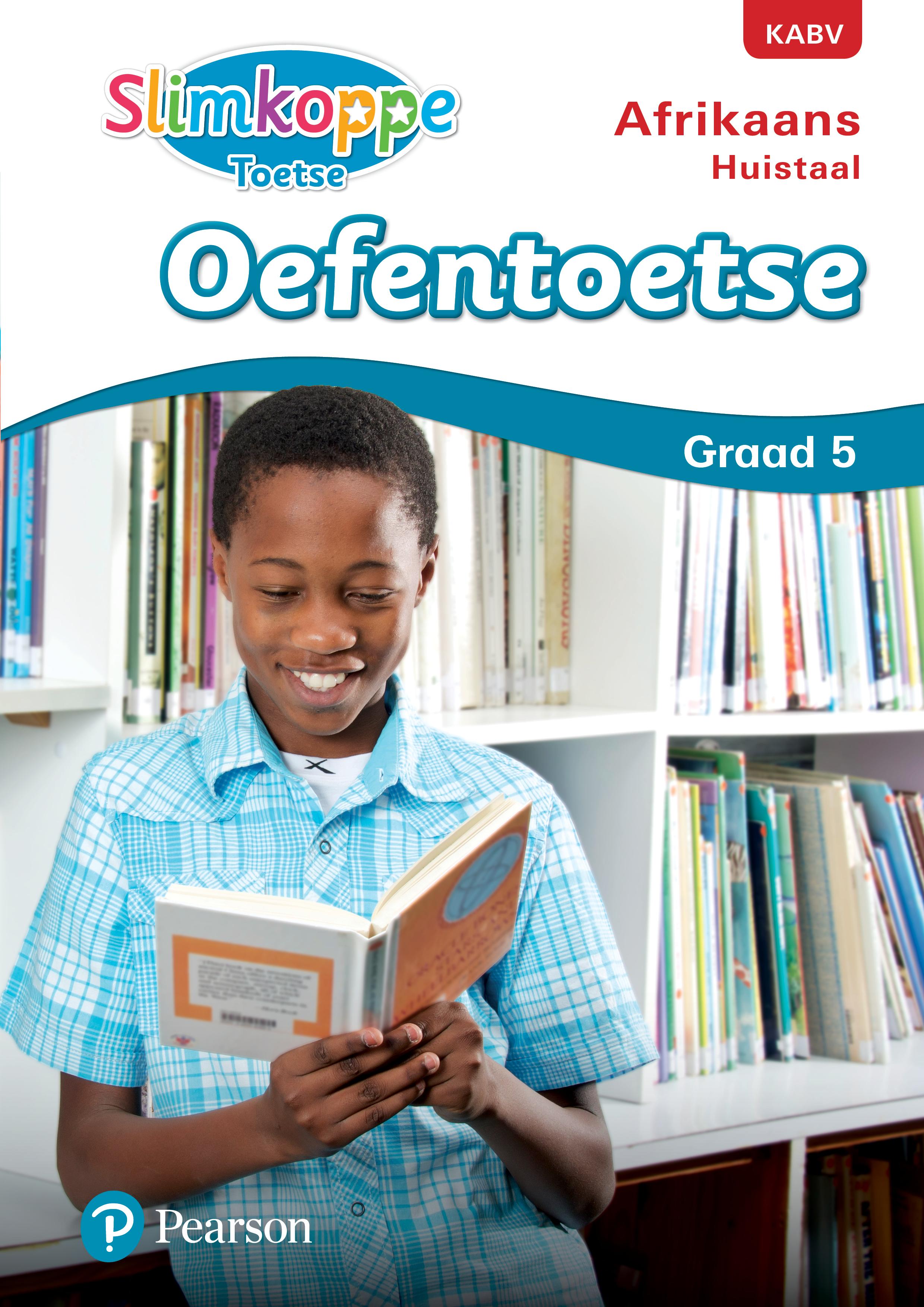 Picture of Slimkoppe Toetse: Afrikaans Huistaal: Grade 5: Oefentoetse