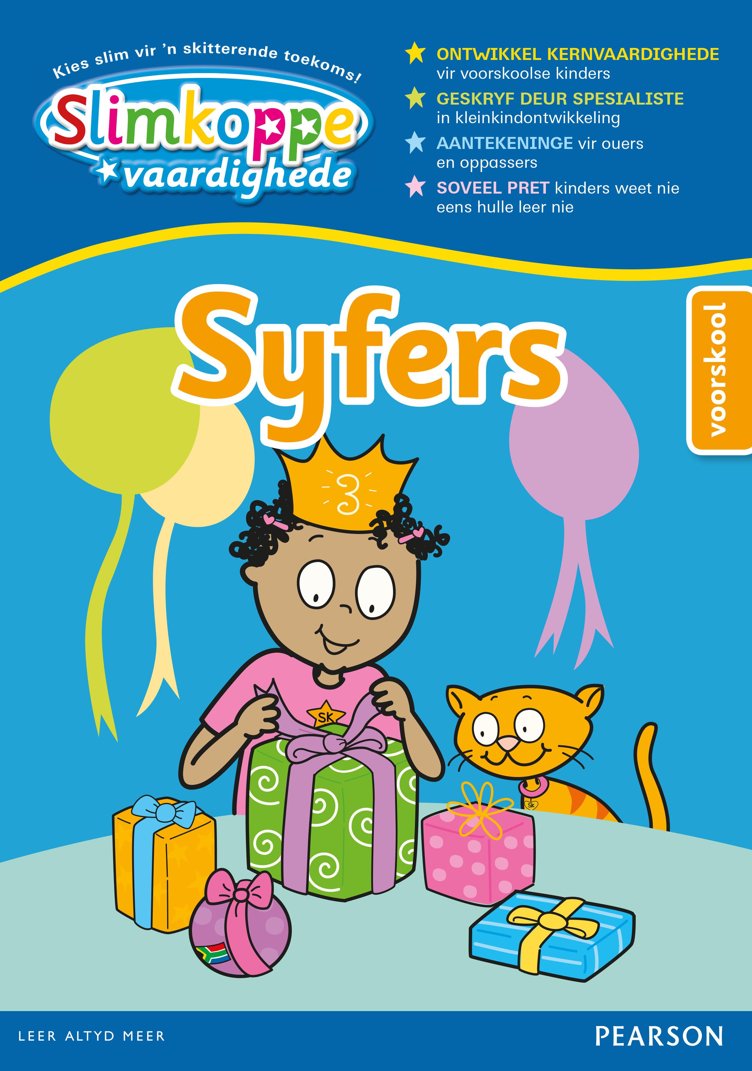 Picture of Slimkoppe Vaardighede: Syfers (Voorskool): Preschool
