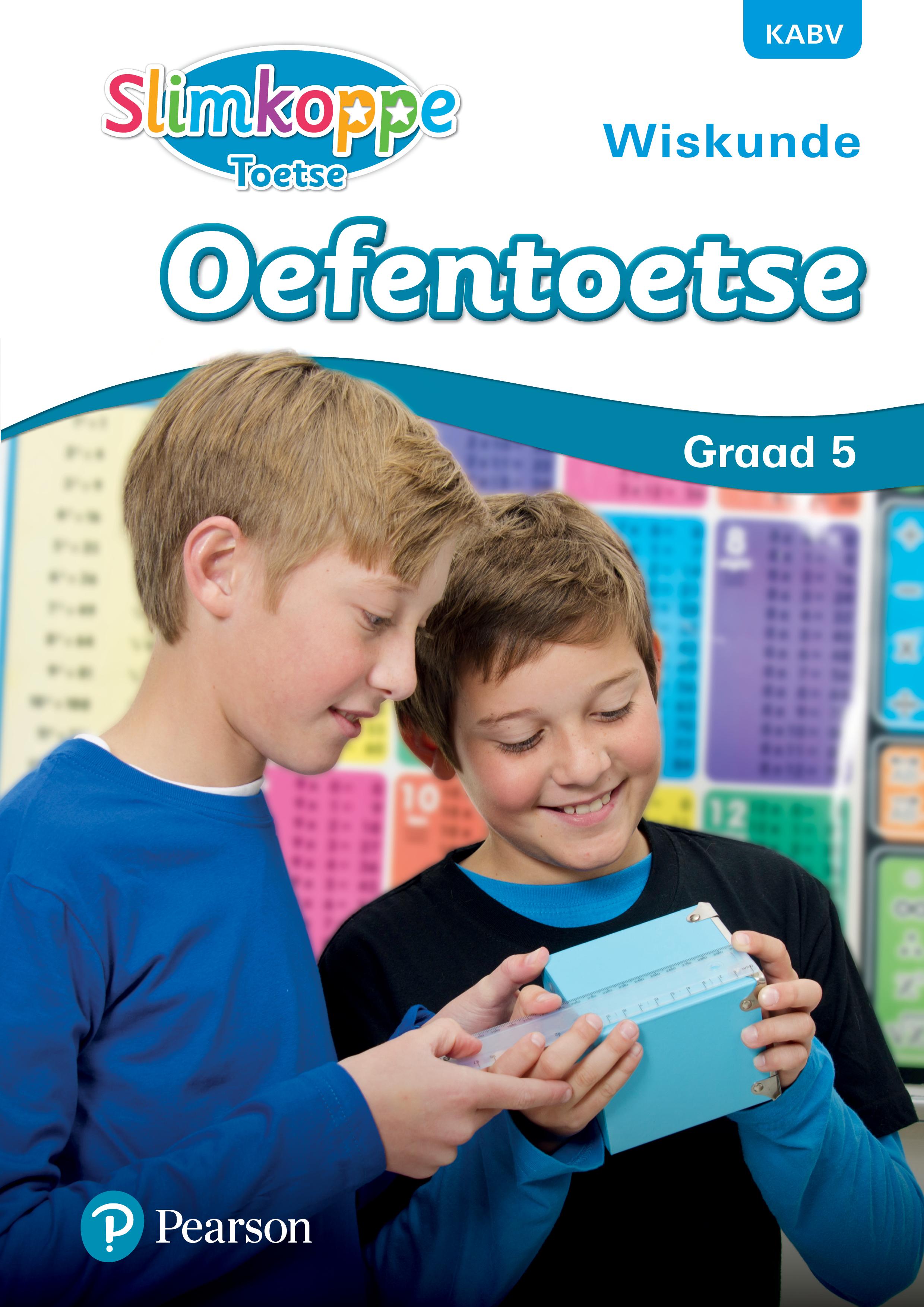 Picture of Slimkoppe Wiskunde: Slimkoppe Toetse: Wiskunde: Grade 5: Oefentoetse Gr 5: Oefentoetse