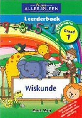 Picture of Nuwe alles-in-een wiskunde : Gr 1: Leerderboek