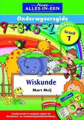Picture of Nuwe alles-in-een wiskunde : Gr 1: Onderwysersgids