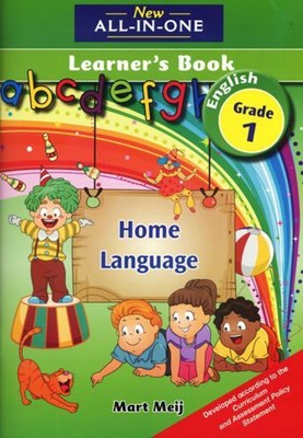 Picture of New all-in-one English : Gr 1: Learner's book : Home language
