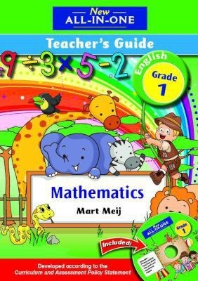 Picture of New all-in-one mathematics : Gr 1: Teacher's guide