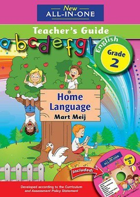 Picture of New all-in-one English : Gr 2: Teacher's guide + CD : Home language