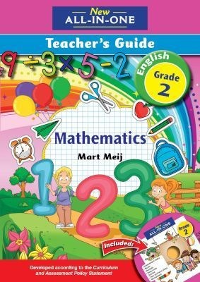 Picture of New all-in-one mathematics : Gr 2: Teacher's guide + CD
