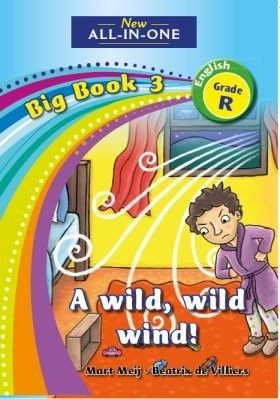 Picture of All-in-one: A wild, wild wind : Big book 3 : Grade R