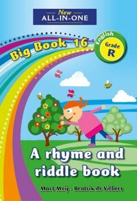 Picture of All-in-one: rhyme and guessing book : Big book 16 : Grade R
