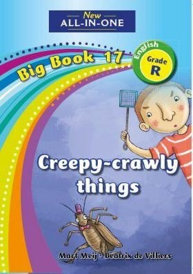 Picture of All-in-one: Things that creep and crawl : Big book 17 : Grade R