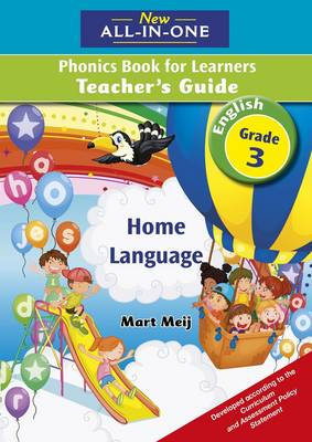 Picture of New all-in-one English phonics : Gr 3: Teacher's guide : Home language
