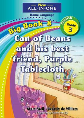 Picture of New all-in-one: Can of Beans and his best friend, Purple Tablecloth : Big book 7 : Grade 3 : Home Language