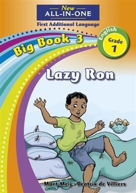 All-in-one: Lazy Ron : Big book 3 : Grade 1
