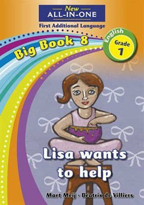 All-in-one: Lisa wants to help : Big book 8 : Grade 1