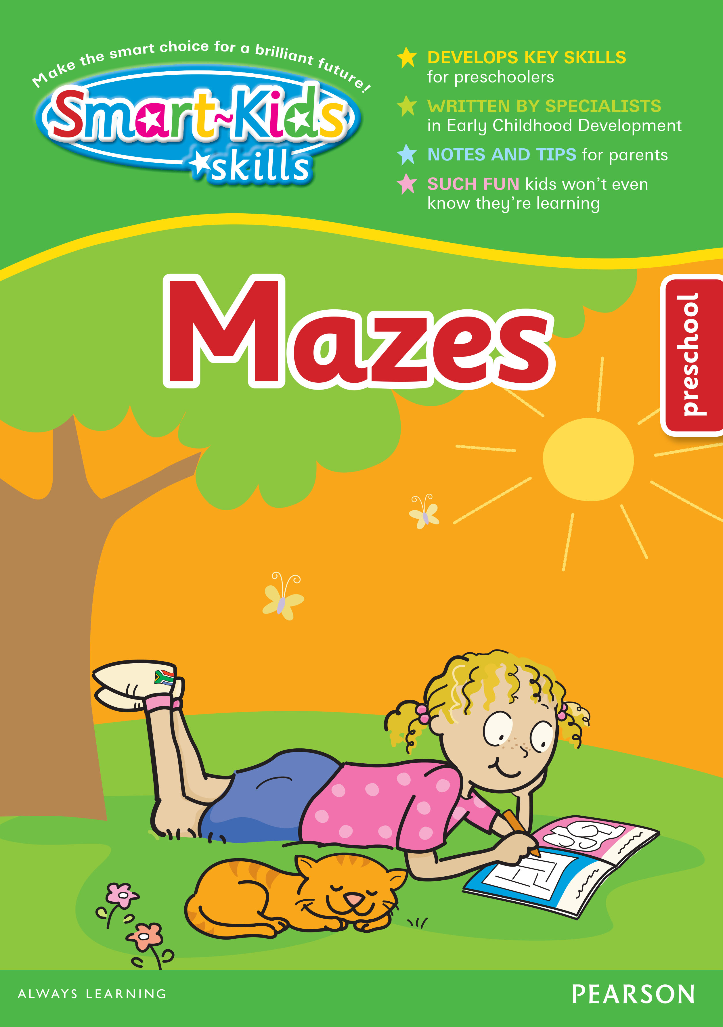 Smart-Kids Skills: Mazes: Preschool