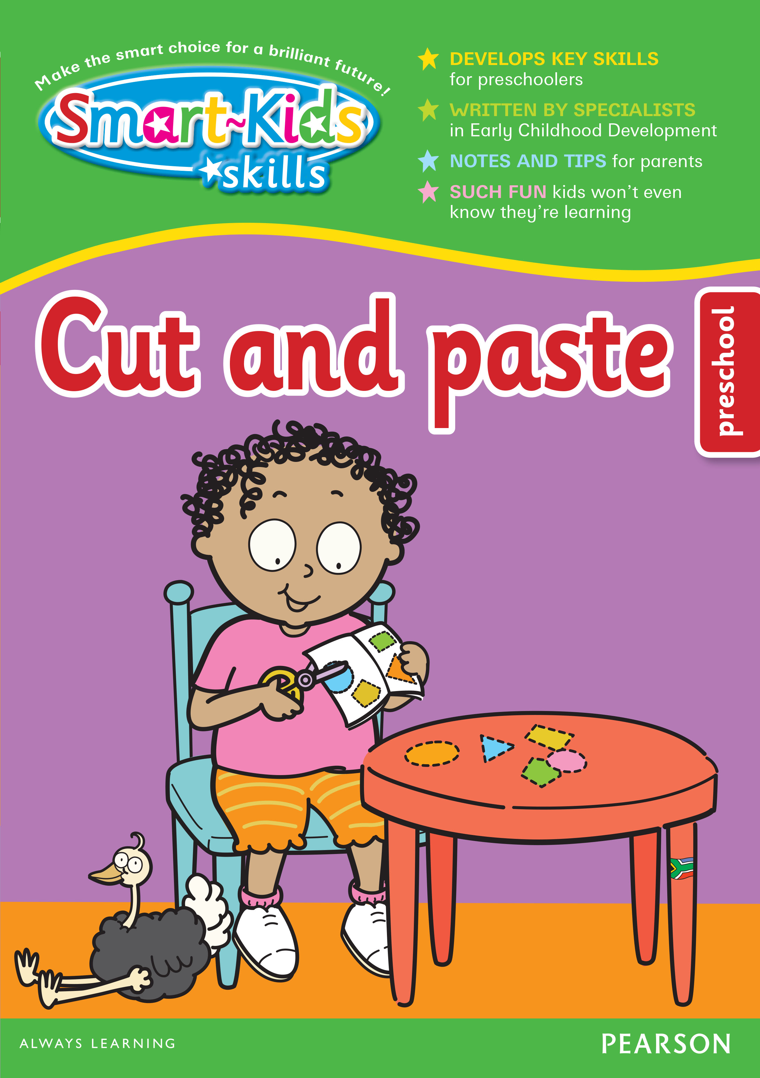 Picture of Smart-Kids Skills: Cut and paste: Preschool