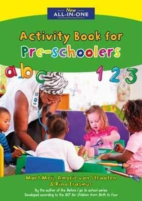 Picture of New all-in-one activity book for pre-schoolers
