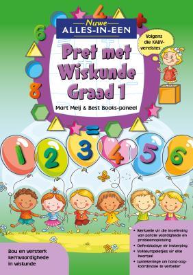 Picture of Nuwe Alles-In-Een: Graad 1 Pret met Wiskunde-Werkboek : Graad 1