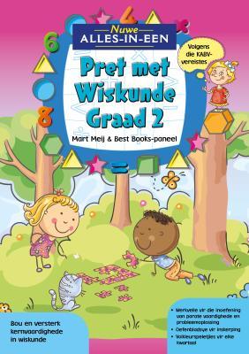 Picture of Nuwe Alles-In-Een: Graad 2 Pret met Wiskunde-Werkboek : Graad 2