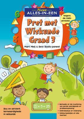 Picture of Nuwe Alles-In-Een: Graad 3 Pret met Wiskunde-Werkboek : Graad 3