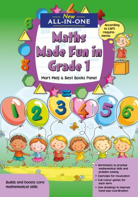 Picture of New All-In-One: Maths Made Fun in Grade 1 Workbook : Grade 1
