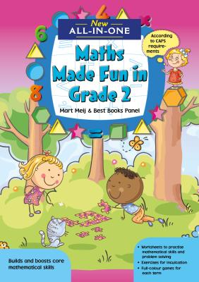Picture of New All-In-One: Maths Made Fun in Grade 2 Workbook : Grade 2