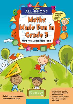Picture of New All-In-One: Maths Made Fun in Grade 3 Workbook : Grade 3