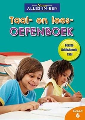 Picture of Nuwe alles-in-een: Taal en leesoefenboek vir eerste addisionele taal : Graad 6