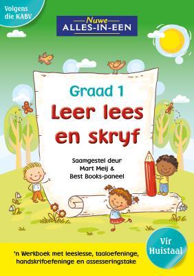 Picture of Nuwe alles-in-een se leer lees en skryf vir graad 1 : Graad 1 : 'n Werkboek vir huistaal