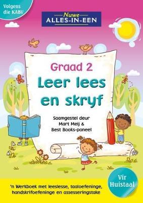 Picture of Nuwe alles-in-een se leer lees en skryf vir graad 2  : Graad 2 : 'n Werkboek vir huistaal