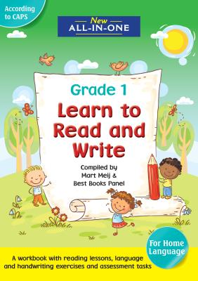Picture of New all-in-one learn to read and write for grade 1  : Grade 1 : A home language workbook
