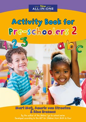 Picture of New all-in-one activity book for pre-schoolers : Book 2