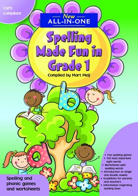 Picture of New All-In-One: Spelling made fun : Grade 1 : A spelling workbook for home language