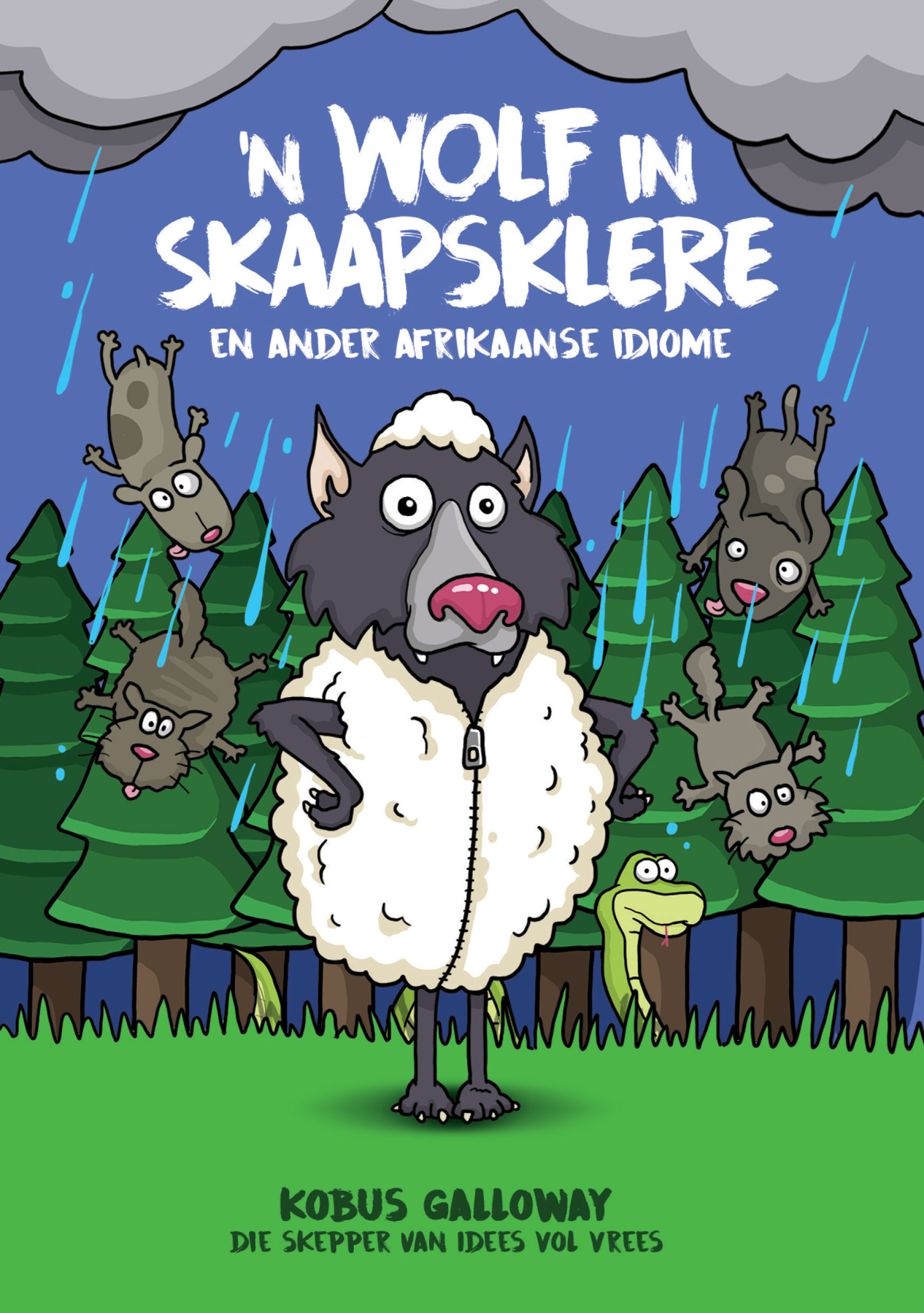 Picture of 'n Wolf in skaapklere, en ander Afrikaanse idiome