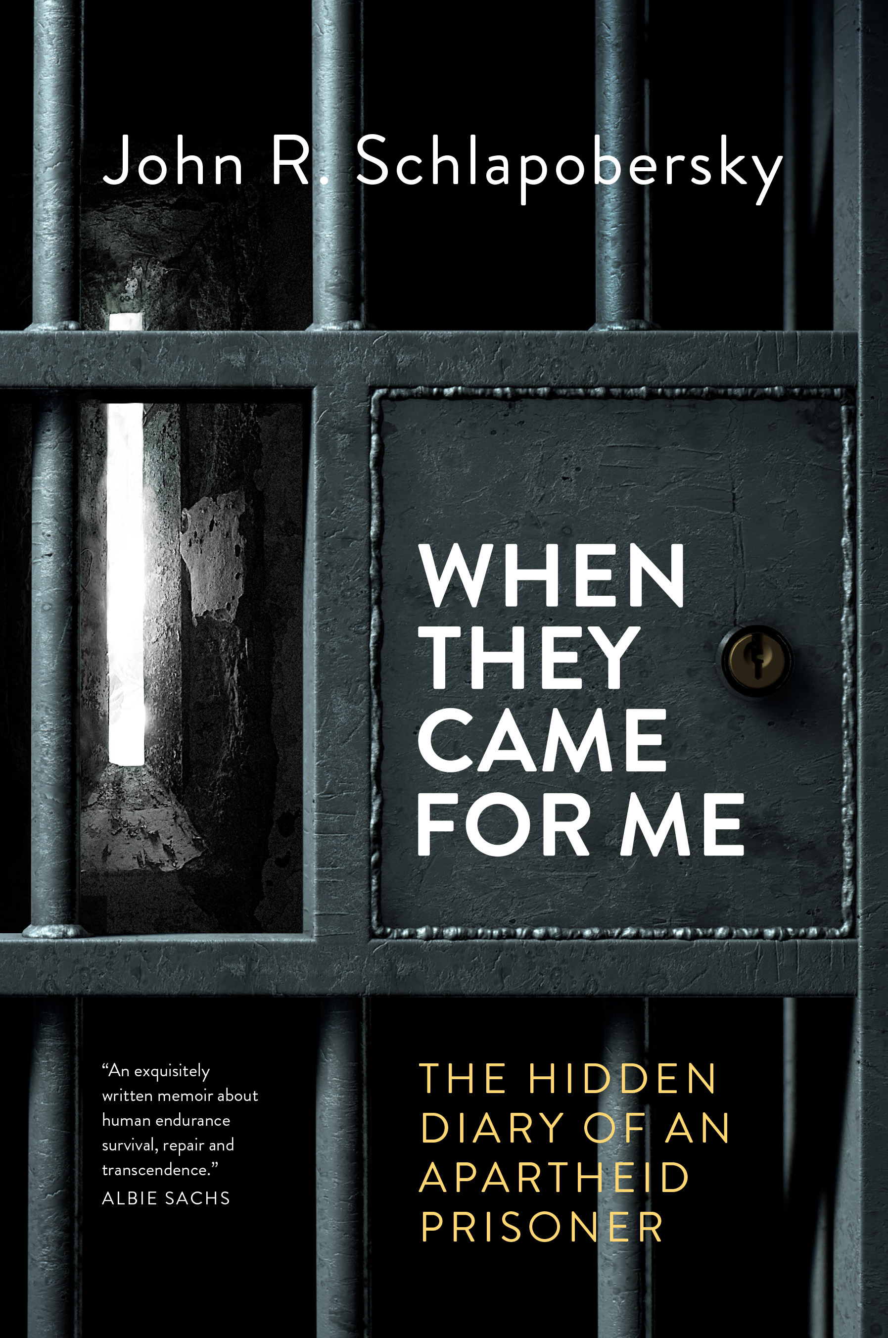 When They Came For Me : The Hidden Diary of an Apartheid Prisoner