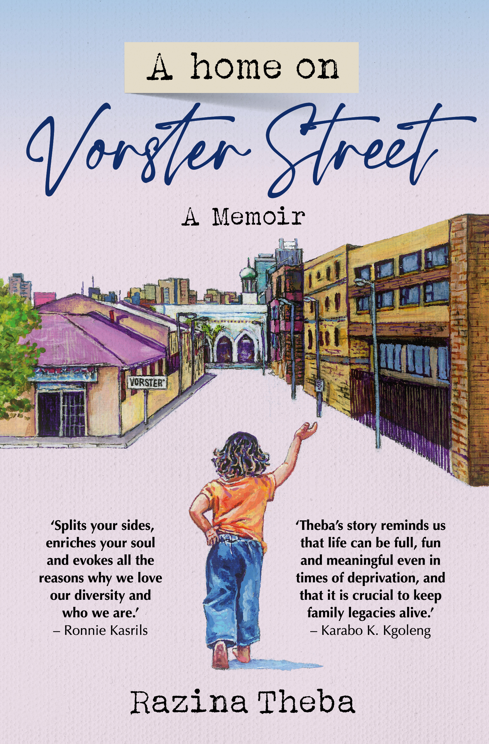 Picture of A Home on Vorster Street : A Memoir