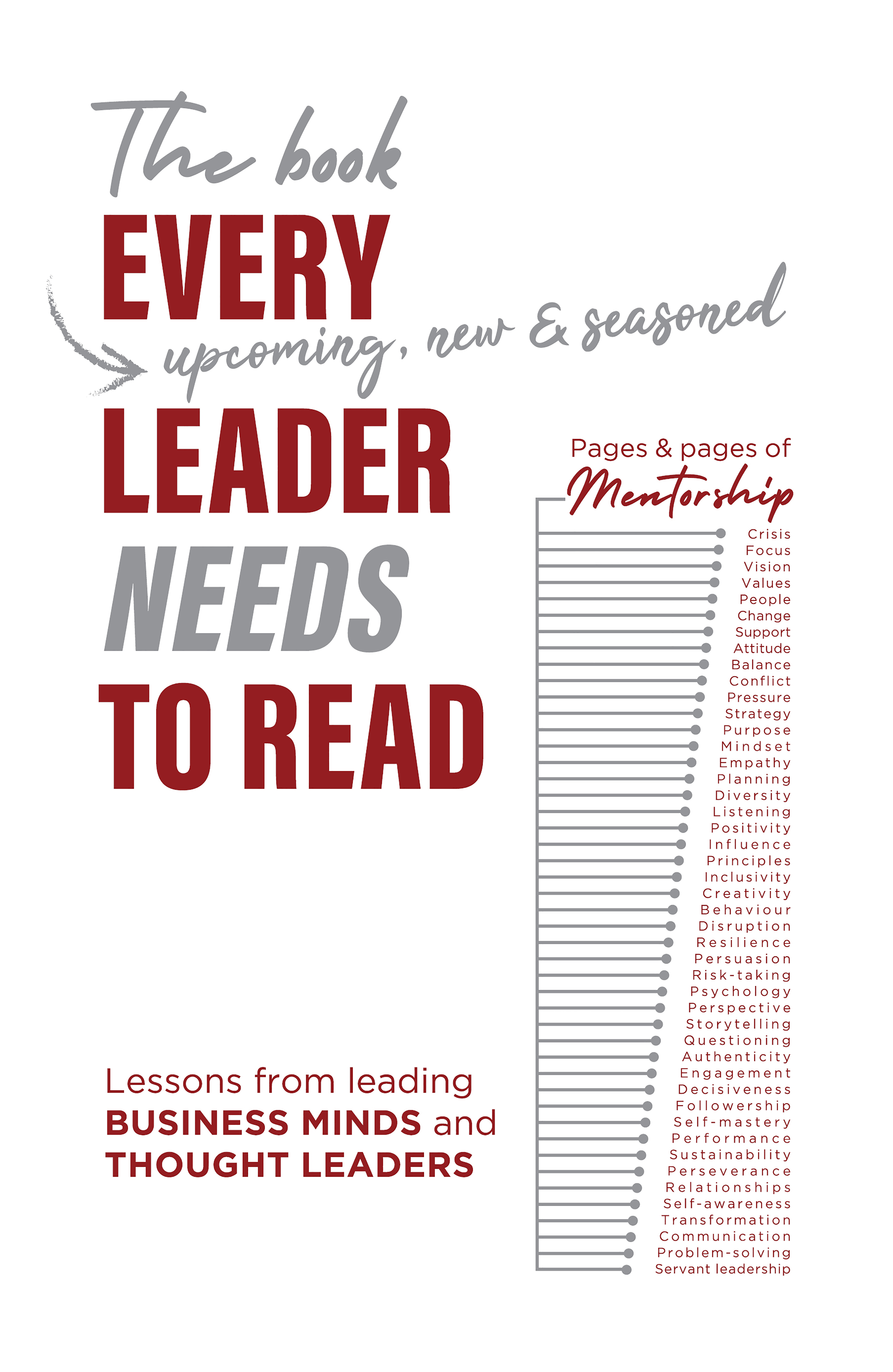 The Book Every [Upcoming, New & Seasoned] Leader Needs to Read : Lessons From Leading Business Minds and Thought Leaders