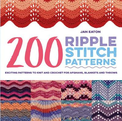Picture of 200 Ripple Stitch Patterns : Exciting Patterns to Knit and Crochet for Afghans, Blankets and Throws