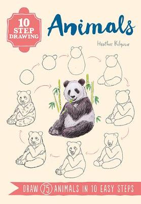Picture of 10 Step Drawing: Animals : Draw 75 Animals in 10 Easy Steps