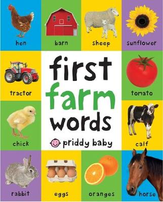 Picture of First Farm Words : First 100 Soft to Touch