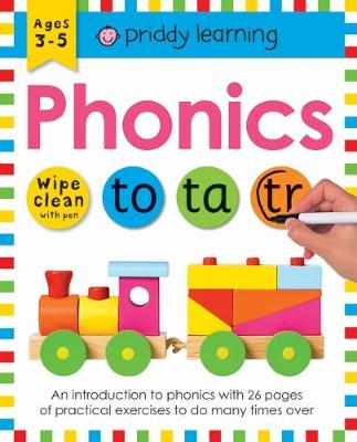 Picture of Phonics : Wipe Clean Workbooks