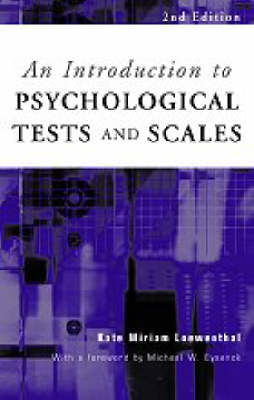 Picture of An Introduction to Psychological Tests and Scales