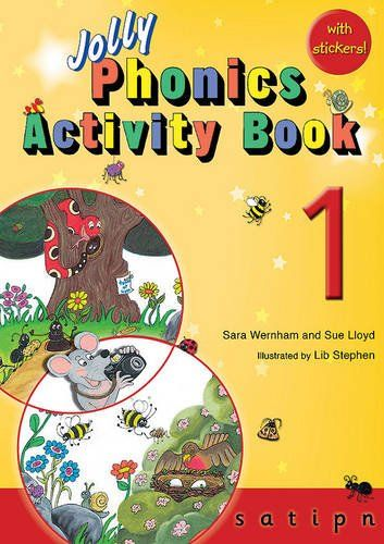 Picture of Jolly Phonics Activity Book 1 : in Precursive Letters (British English edition)