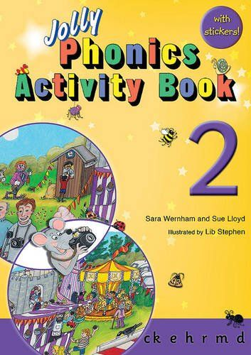 Picture of Jolly Phonics Activity Book 2 : in Precursive Letters (British English edition)