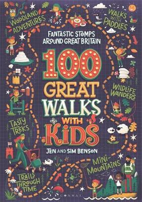 Picture of 100 Great Walks with Kids : Fantastic stomps around Great Britain