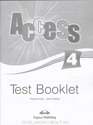 Picture of Access 4 Test Booklet (international)